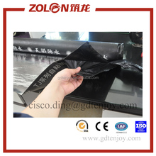 easy application one side self adhesive bitumen waterproof membrane with aluminum foil