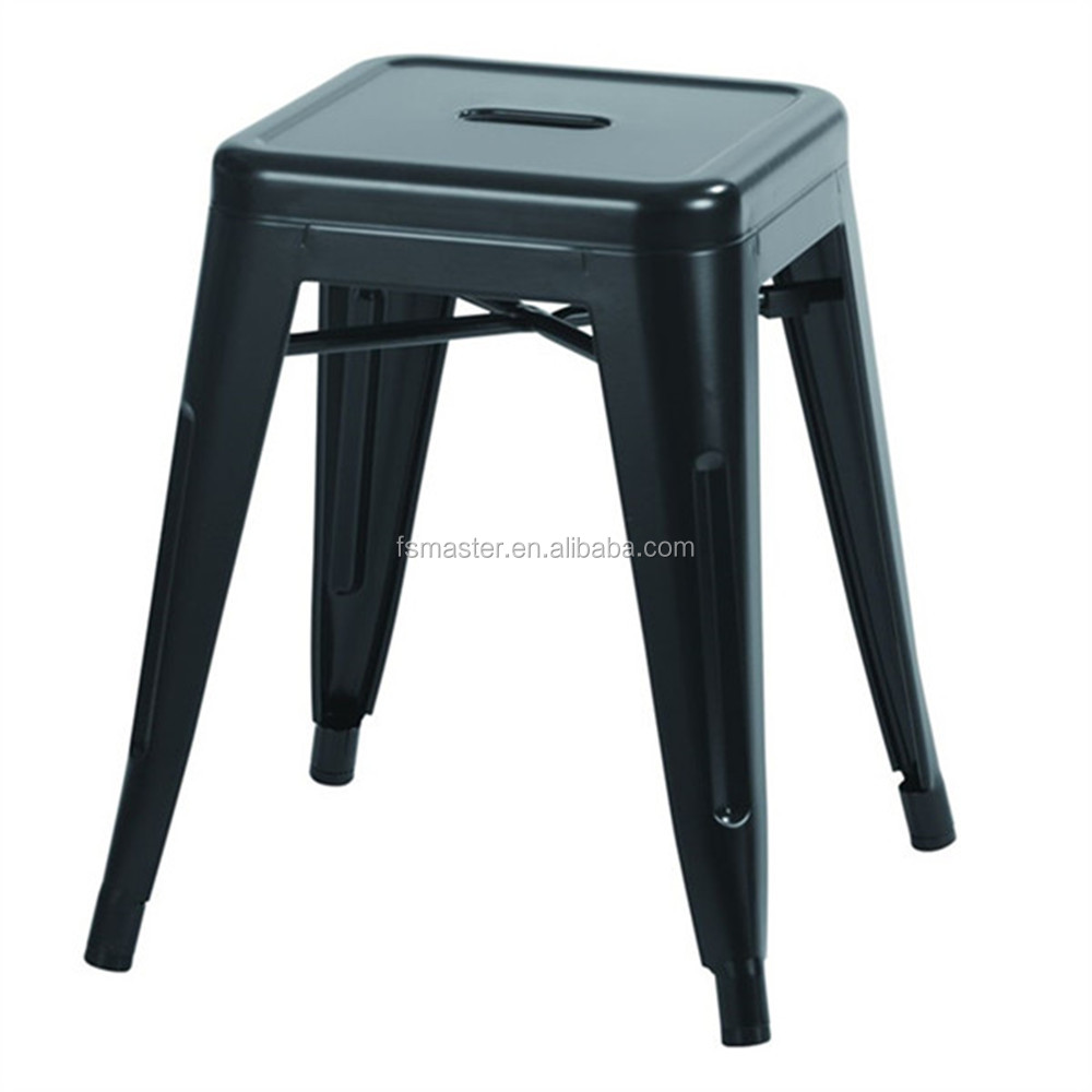 powder coated Xavier bar pub stool cafe paint metal counter stool