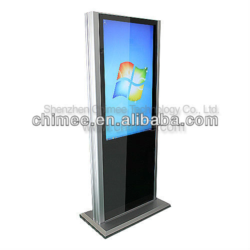 42 inch Free Standing LCD All In One Touch PC With Latest Computer Configuration(D525,intel i3,i5,i7,1920x1080 resolution)