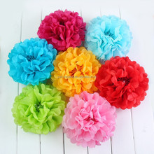 Hot sale paper flower ball indoor &outdoor decoration,Factory Price Tissue Paper Pom Poms