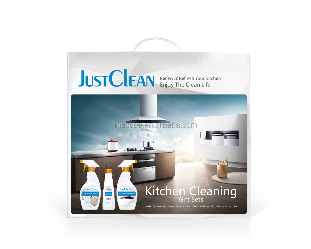 Kitchen Cleaner set high quality stove oil removal detergent