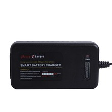 Smart lipo battery charger with LED fuel gauge 12v 3 cells 4 cells