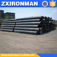 zhongxing 12 inch schedule 80 astm a106 black seamless steel pipe