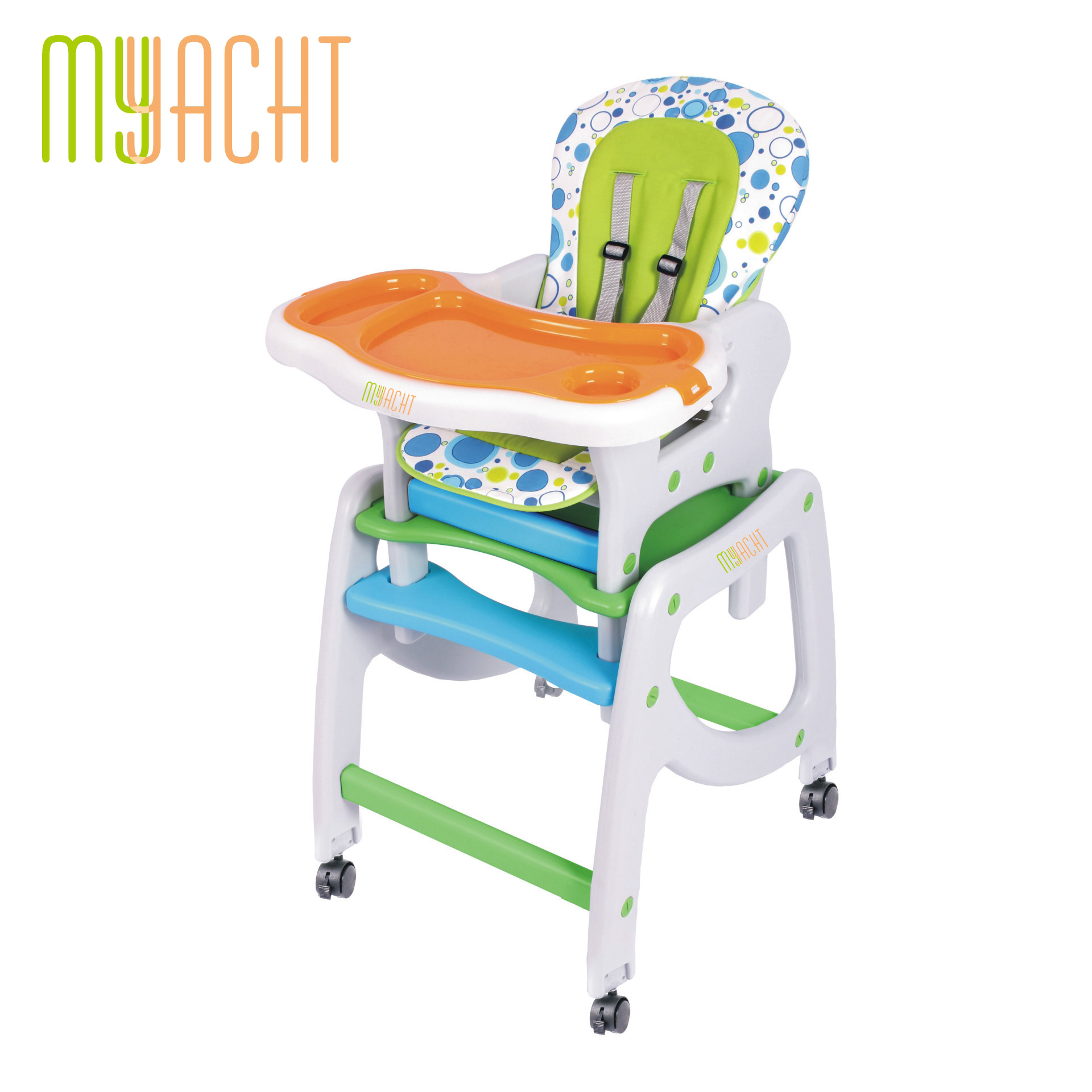 EN14988 Baby High <strong>3</strong> in 1 Dinning Chair