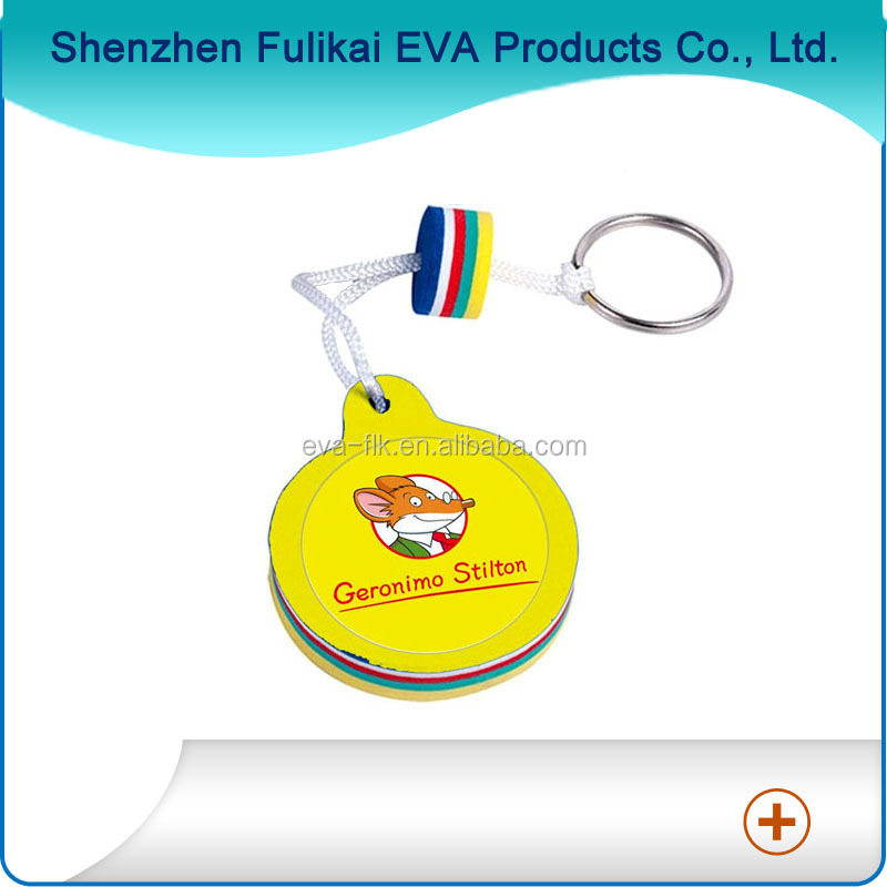 Most welcomed customized fashion EVA foam key chain