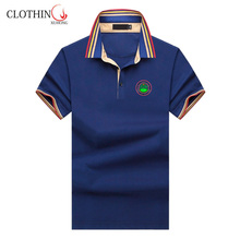 custom stand collar polo shirt for golf club men fashion design wholesale