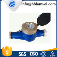 Dry Dial Vane Wheel Water Meter With Iron Body