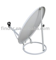 Satellite Antenna (Round Stand) with High anti-rusty and corrosion, well strength and stability