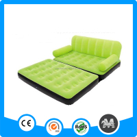 Flocked inflatable sofa bed, flocked inflatable sofa bed furniture, inflatable living room furniture