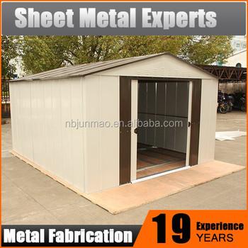 Prefab Steel Garden Shed Metal Storage Shed Movable Steel Warehouse