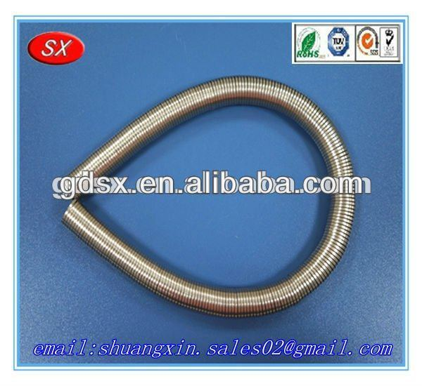 Customized cheap stainless steel flat spring steel,tension spring clips, oil seal spring