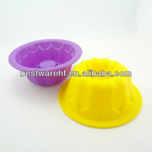 Big Rose shape birthday gifts silicone microwave cake pan