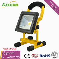 super thin 10w rechargeable led flood light three-year warranty