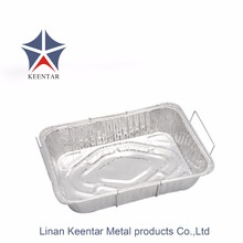 Metal frame takeaway food aluminum containers CD3700