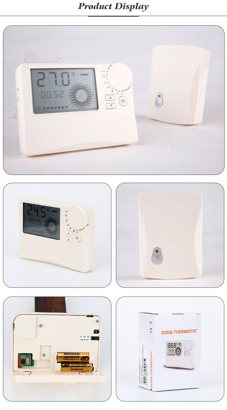 Cheap Price 433Mhz Mini Rf Thermostat Controller