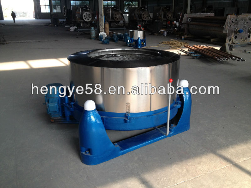 Industrial centrifugal hydro extractor/laundry dewatering machine