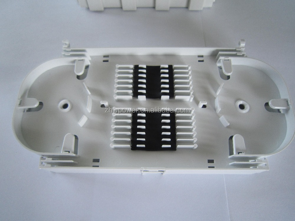 FTTH FTTX 24 Port Fiber optic splice tray 24 port FO ABS Plastic for fiber optic cable joint closure