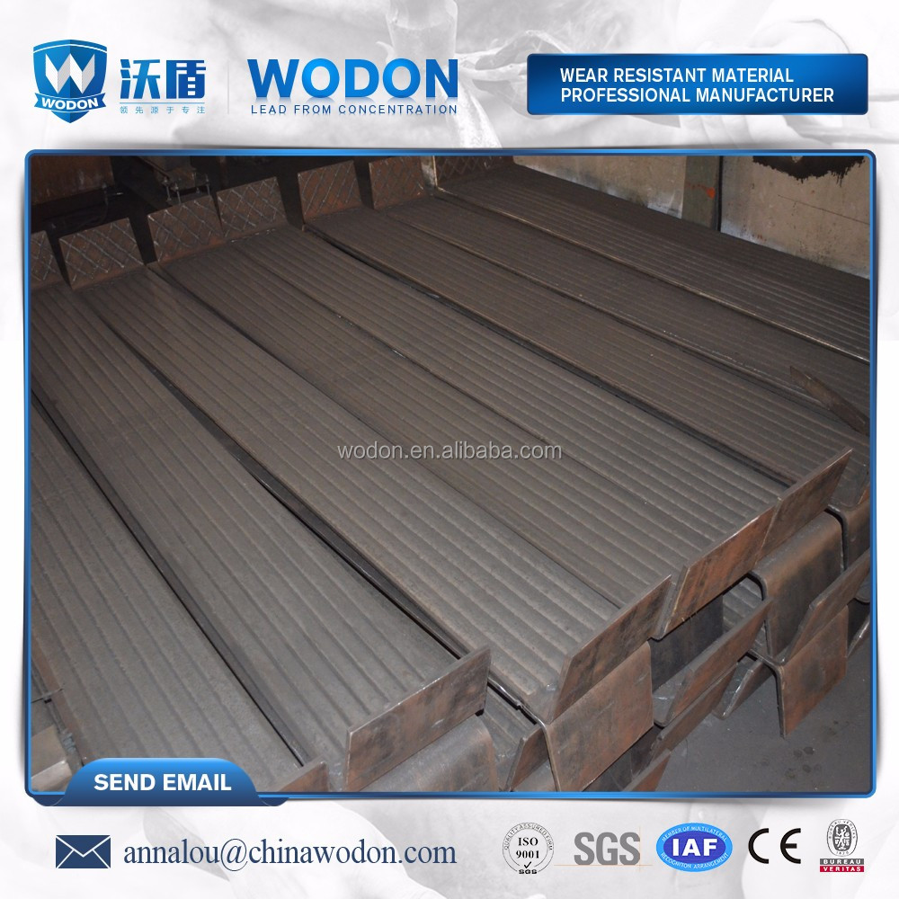 chrome carbide harden face high abrasion resistant plate