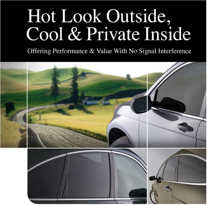 Wholesale car solar window <strong>film</strong> 1 ply black glass <strong>film</strong> with high heat insulation
