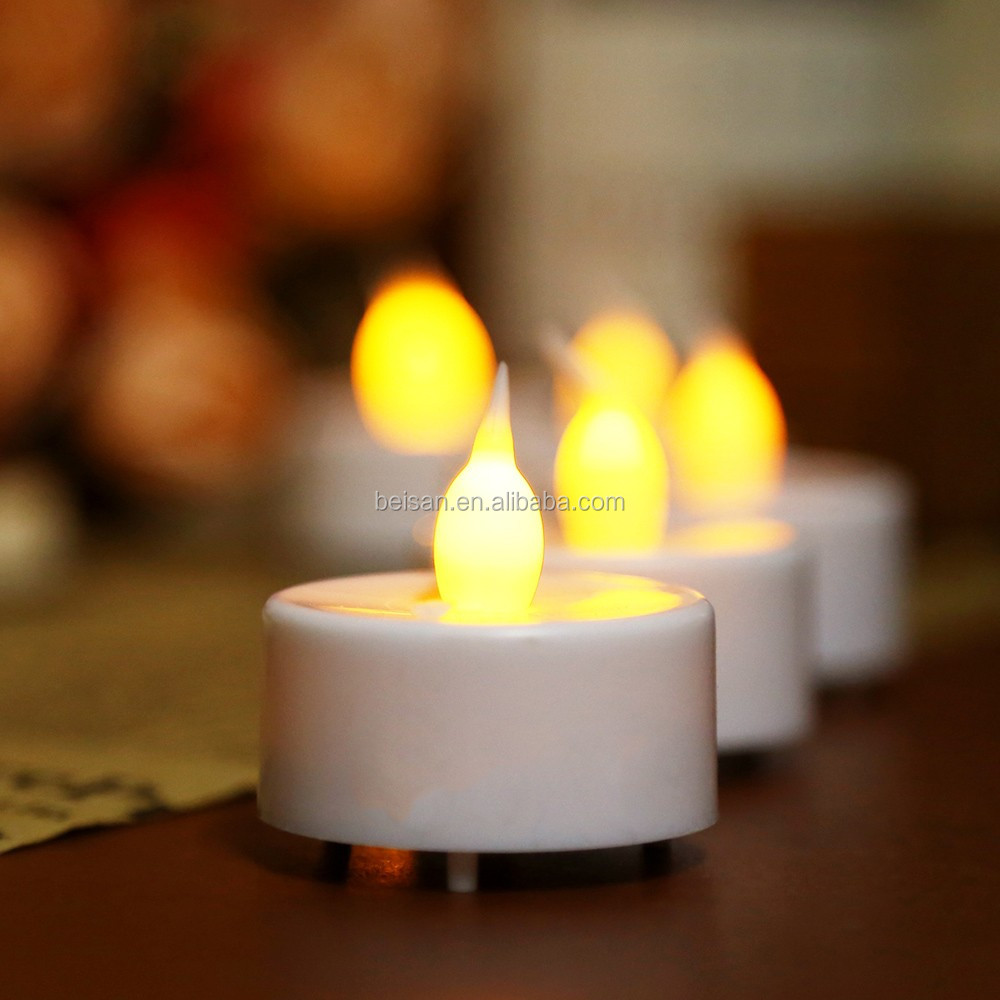 Wholesale Birthday candle Remote control led lights candle Mini tea light electronic candle