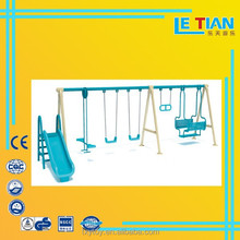 outdoor and indoor swing and slide play set, children swing chair,outdoor children swing chair