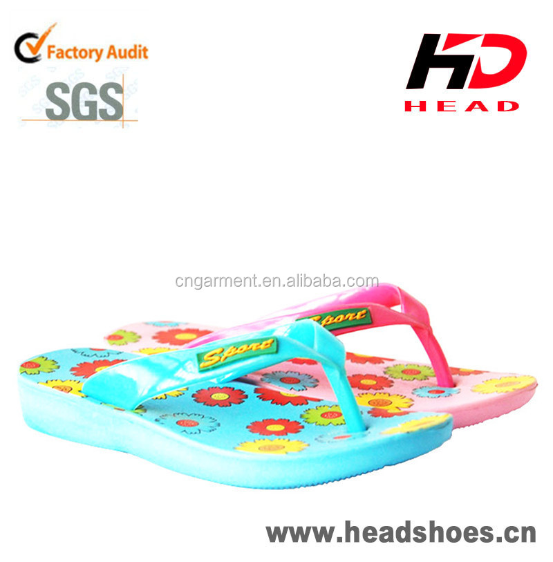 2015 Kids Nude Beach Flip Flop/Fashion Kids Slippers for Boys and Girls