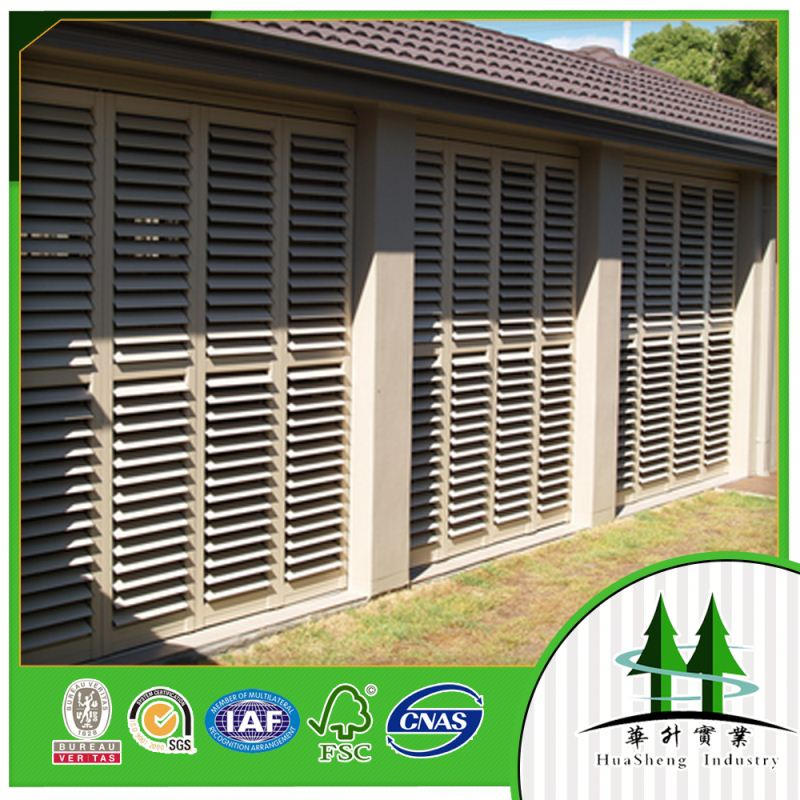 interior wooden shutters plantation shutters from china