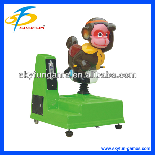 2013 Christmas monkey king coin operated electric car for children