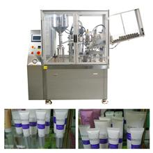 Automatic hand plastic tube filling sealing machine