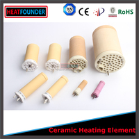 1.55 KW high temperature resistance Insulation electrothermal ceramic small ceramic heating element