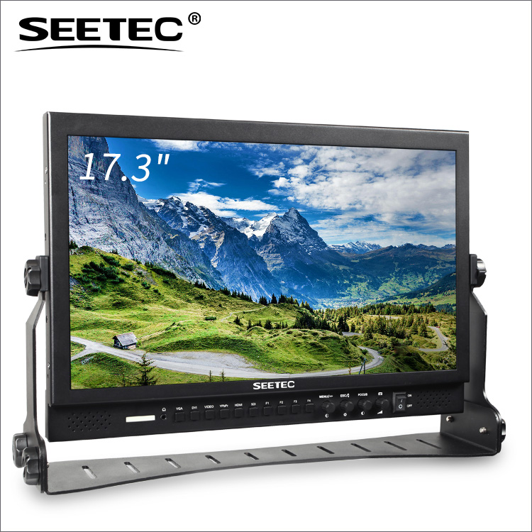Seetec new used 17 inch lcd monitor with hdmi sdi 16:9 1920x1080 resolution