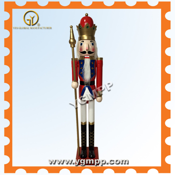 "Sell YGM-K02 48""Gaint Wooden Christmas Navy nutcracker king"