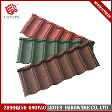 Stone Chip Coated Metal Roof Tile,Colorful Stone Coated Aluminum Roofing Shingles