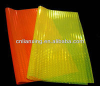 China brand reflective plastic pvc sheet for shoes
