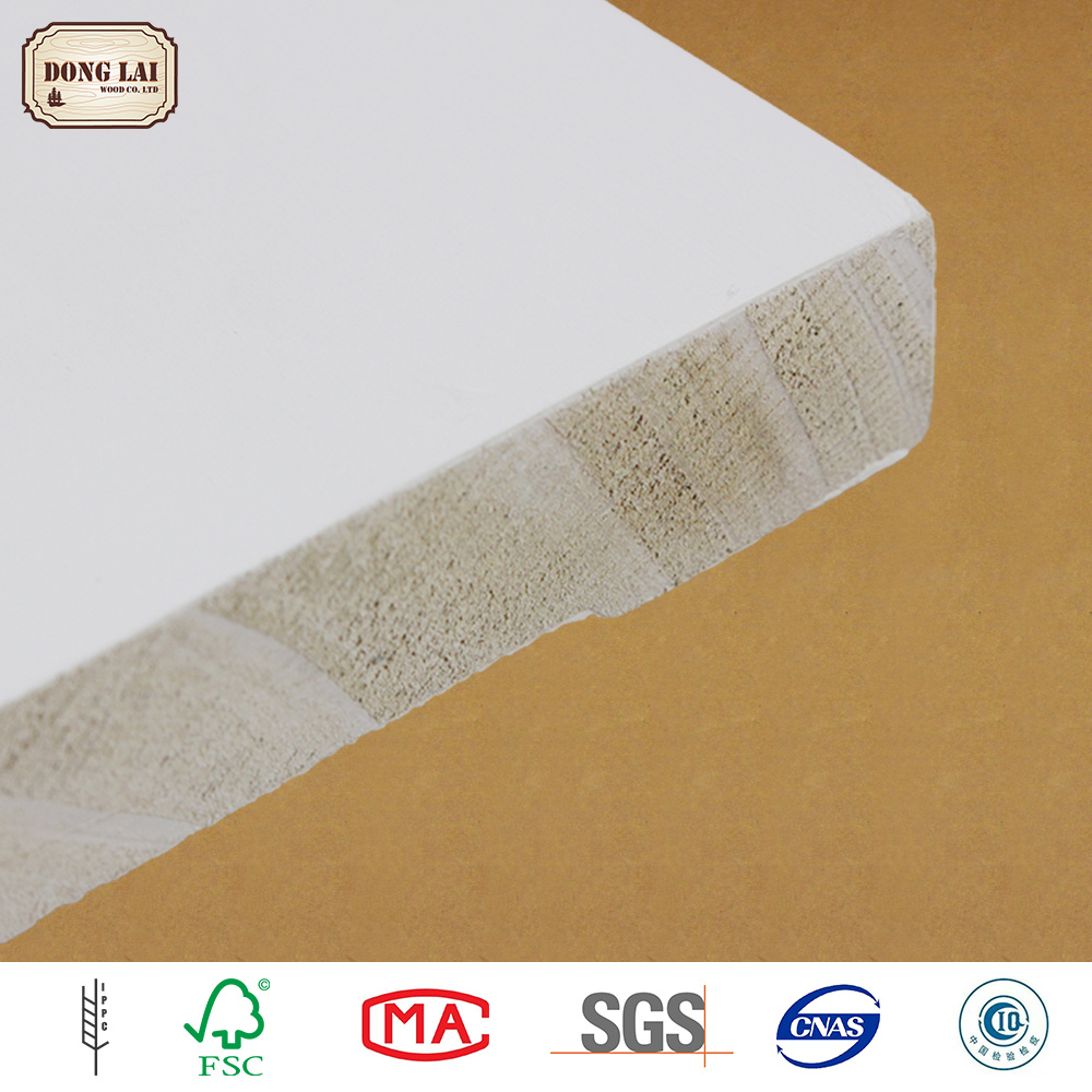 High Quality 12Mm New Zealand Pine Wood white gesso primed finger Joint Board
