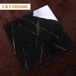 800x800 Guangdong Living Room Decorative orient prefabricated standard size wall tiles wholesale price black glazed wall tiles