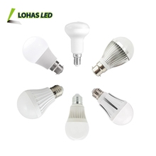 Lohas Led Lighting 3W-15W (60W Equivalent) A19 E26 Medium Screw Base Alu Plastic Led Bulb for General lighting