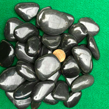High Quality Wholesale Cheap black polished pebble stone