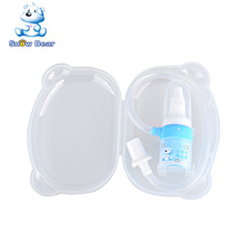 Snow bear 09217 BPA free food grade silicone portable manual baby nasal aspirator