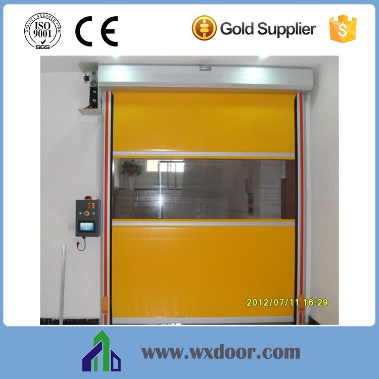 automatic pvc fabric high speed door/sectional door/pretty door pvc door