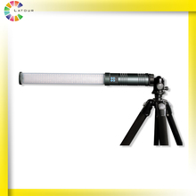 Photo video shooting bi-color handheld Tube light battery replaceable led camera rod light