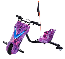 Three wheel kids and adult drifting electric scooter