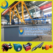 China Manufacturer Qingzhou Hengchuan 10Inch Cutter Suction Sand Pump Dredger for Sale