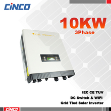 10KW solar grid tie inverter,3 phase dc to ac solar power inverter/converter 10KW