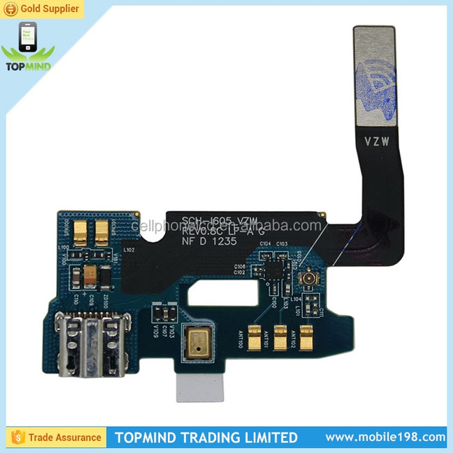 Charging Connector Flex Cable for Samsung Galaxy Note II, Dock Charger Port Flex Cable for Samsung Note II