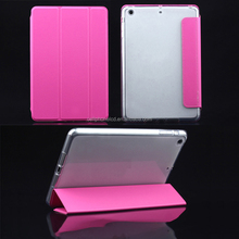 Corner/Bumper Protection Smart Cover Case with Soft TPU Bumper and Auto Wake/Sleep Function for iPad Air 1 2