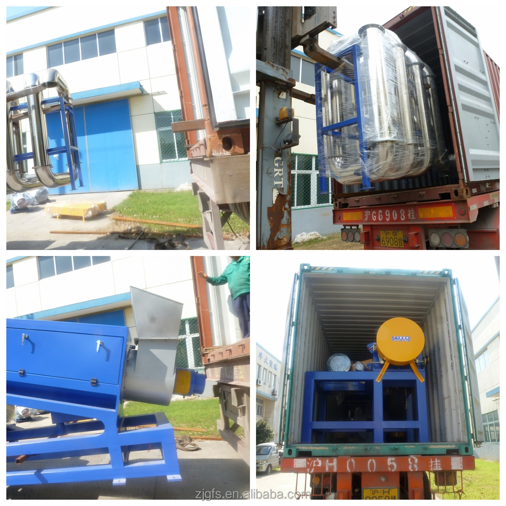 Hot washing pet recycling line