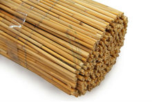 rolled reed fences