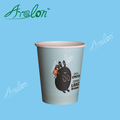 8oz single wall paper cup with lids