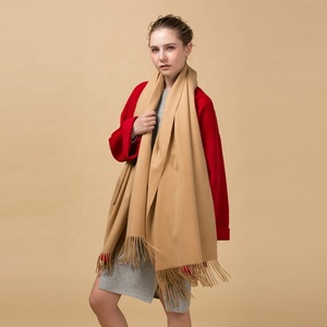 2019 new colors arrival China factory luxury handmade 100 cashmere pashmina wool shawl